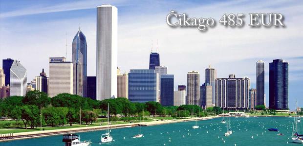 Avio karte Čikago 485 EUR