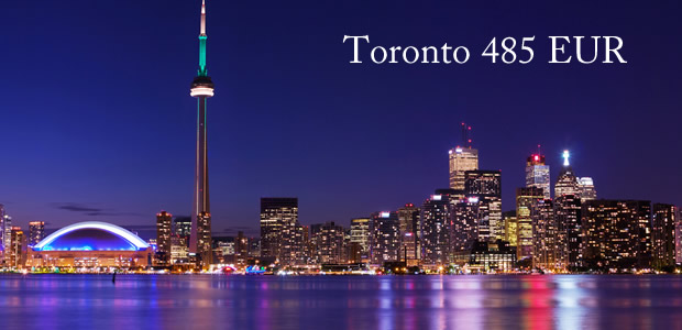 Avio karte Toronto 485 EUR